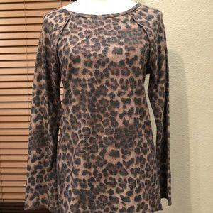 Sweaters - Lightweight Leopard Sweater